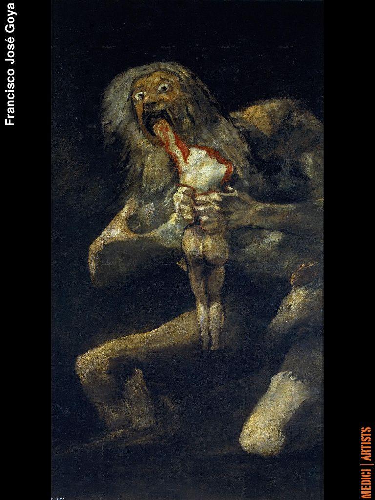 Famous Goya Painting
