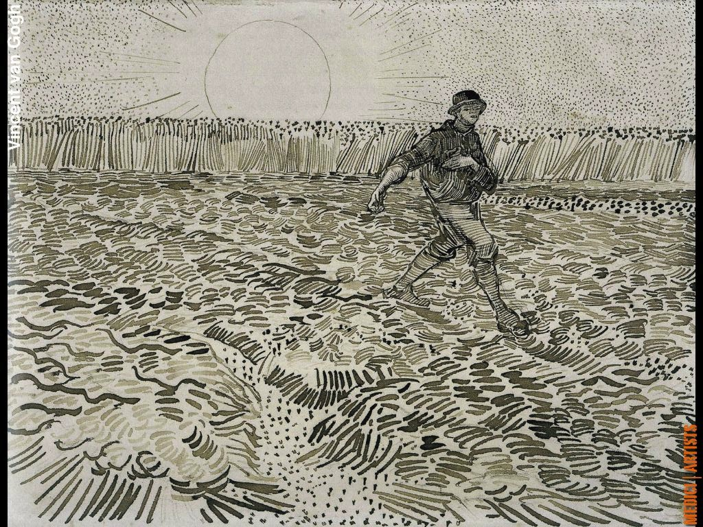 Line Drawing By Vincent Van Gogh : Vincent van gogh wearearamis